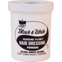Black & White Hair Dressing...