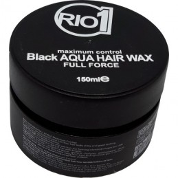 Rio One Black Aqua Hair Wax...